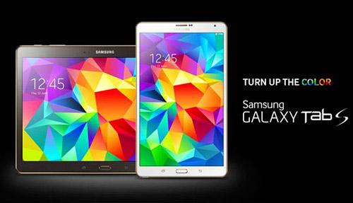 Samsung sfida il Retina display di Apple con i tablet Galaxy Tab S